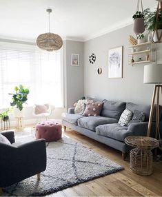 New Modern Home Decor Trends to Copy in Year 2020 1930s Living Room, Narrow Living Room, Living Room On A Budget, Living Room Grey, Living Room Sofa, Interior Design Living Room, Living Room Designs, Living Room Decor, Living Rooms