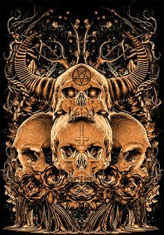 Skulls by bloodboy. J