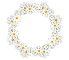 Free Image on Pixabay - Flowers, Daisy, Photo Frame Borders For Paper, Borders And Frames, Flower Frame, My Flower, Daisy, Pillow Embroidery, Text Frame, Clip Art, Chinese Painting