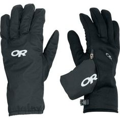 Okay. Sit down #outdoorresearch has some seriously versatile gloves: wear the fleece gloves by themselves and in case of wet weather just slide the waterproof outer-lazer over!  Versaliner (Women's) #OutdoorResearch at RockCreek.com