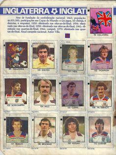 Inglaterra - Copa do Mundo Espanha 1982