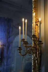 Electrified wall sconce: often used in pairs add light, charm and elegant ambiance,
