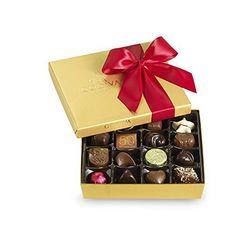 Godiva Chocolatier Red Ribbon Ballotin Valentines Chocolate Gift, 19 Count - http://bestchocolateshop.com/godiva-chocolatier-red-ribbon-ballotin-valentines-chocolate-gift-19-count/