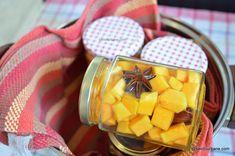Compot de dovleac pentru iarnă - rețeta fără conservant | Savori Urbane Peach, Urban, Candy, Food, Essen, Peaches, Meals, Sweets, Candy Bars