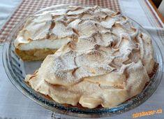 Jablkový koláč se sněhem | Mimibazar.cz Apple Pie, Cake, Sweet, Recipes, Lemon Tarts, Candy, Kuchen, Recipies, Ripped Recipes