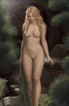 Elf nude by qoiwrng on DeviantArt