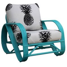 I'm thinking that if I got two of these lounge chairs to put on my back porch, a certain fellow pineapple/ Psych fan would just have to come visit me. ;)