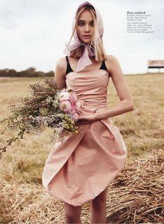 Field of Dreams Rosie Tupper by Nicole Bentley for Vogue Australia