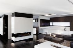 Living room, Casa Murano in Stuttgart by Architects LEE+MIR _