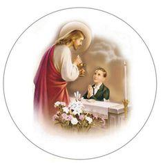 First Communion Decorations, First Communion Cards, Boys First Communion, Baptism Decorations, First Communion Invitations, Jesus Christ Images, Roman Catholic, Christening, Confirmation