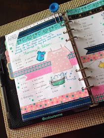 Coloursnme: Filofax Chameleon A5 Black :: Clothes Inspired