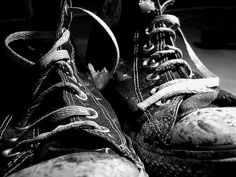 my shoes are muddy, girl - how about yours?  11/5 by michele cat, via Flickr