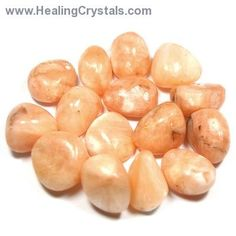 Tumbled Stilbite - Tumbled Stones- Stilbite - Healing Crystals --Stilbite is a wonderful stone, connecting the Heart Chakra with the upper Chakras. It is strongly connected to the third eye chakra, assists in the dream state allowing for pleasant dreams. Stilbite frees us from external influences such as fear, and assists us make decisions and choices that with the evolvement of our spiritual path.