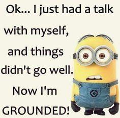 I'm grounded!
