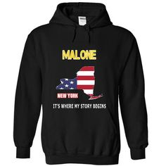MALONE - Its where my story begins! - #ringer tee #tshirt blanket. BUY-TODAY => https://www.sunfrog.com/LifeStyle/MALONE--Its-where-my-story-begins-9592-Black-18673059-Hoodie.html?68278