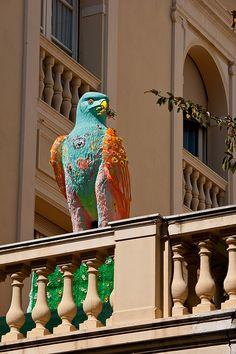 Grimaldi Palace in Monaco.