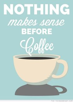 #allthecoffee