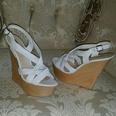 H By Halston Wedge H By Halston Wedge. Worn only once perfect condition. H by Halston Shoes Wedges