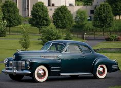 1941 Cadillac model 62. 2-door coupe, V-8. Fast.