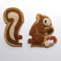 Squirrel Jigsaw Puzzle DIY with Pattern
