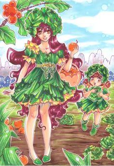 Cabbage girl by Rambutan
