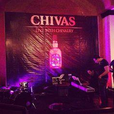 Preparativos para el #Chivas #JazzNight