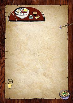 Nostalgic Retro Background Creative Restaurant Menus Food background wallpapers Food poster design Retro background