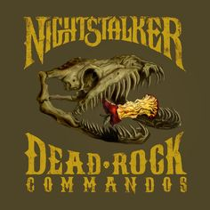 Dead Rock Commandos by Nightstalker (CD, Small Town Recordings) for sale online Hard Rock, Heavy Metal, Stoner Rock, The Underdogs, Broken Promises, Afraid Of The Dark, One In A Million, Rock Music, Album Covers