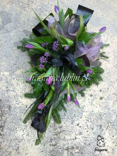 Black Flowers, Unique Flowers, Silk Flowers, Funeral Flower Arrangements, Funeral Flowers, Flower Centerpieces, Flower Decorations, Casket Sprays, Funeral Tributes