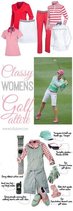 Classy Womens Golf Attire roundup.
