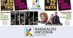 Un acto en Herriko Plaza y una gala en el teatro sensibilizan sobre el daño cerebral adquirido