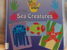 cut and glue patterns Under The Sea Crafts, Under The Sea Theme, Ocean Theme Crafts, Ocean Themes, Preschool Arts And Crafts, Kindergarten Crafts, Summer Camp Crafts, Camping Crafts, Ocean Activities