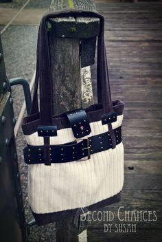 Second Chances by Susan-Tutorials: Belted Sweater Purse