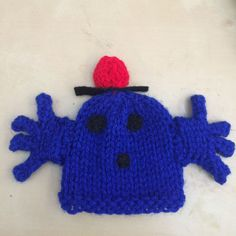 The Big Knit Challenge for Innocent Smoothies Hat Patterns, Knitting Patterns Free, Free Knitting, Free Pattern, Big Knits, Knit In The Round, Loom Knitting, Easter Crafts, Knitted Hats