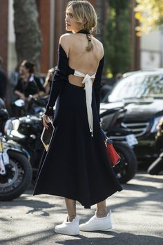 Pin for Later: The Best Street Style From All of Paris Fashion Week Paris Fashion Week, Day 5 Pernille Teisbaek.