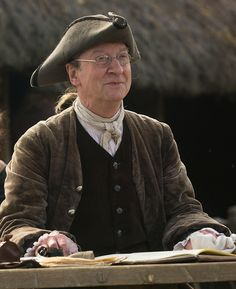 Bill Paterson, Ned Gowan - Lawyer from Edinburgh who acts as a legal advisor to Clan MacKenzie - Outlander (TV Series, 2014- ) #dianagabaldon