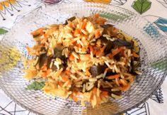 Arroz Integral con Zanahorias y ALGA KOMBU Japonesa