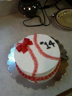 The Softball Cake!! Julia wants this cake for her birthday.