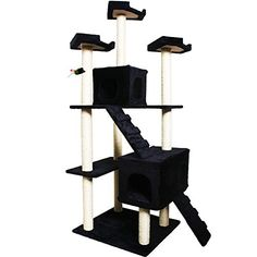leopard 73 Cat Tree Pet House Condo Furniture Scratch Post * Want additional info? Click on the image. (This is an affiliate link) #CatBedsandFurniture