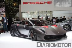 Lamborgini Veneno, only 3 will be made for 3 Million € each.   A 12 cilynder engine wirh 750 HP, that takes himo from 0 to 100 km/h in only 2.8 seconds with a maximum speed of 355 km/h.   A pity being so low on cash ;-)