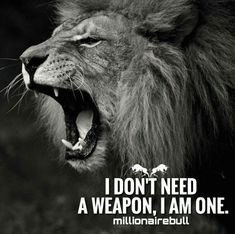 Be a Weapon