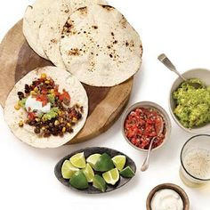 Build your own burrito bar for Cinco de Mayo party