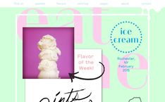 Eat Me, on siteInspire: a showcase of the best web design inspiration. Best Web Design, Ui Design, Ice Cream Flavors, Cool Animations, Mobile Design, Web Design Inspiration, Website, Eat, Medium