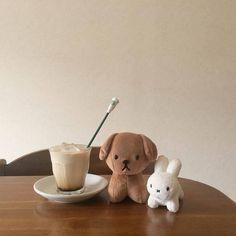 New post on divaricates - Plushies Cream Aesthetic, Brown Aesthetic, Aesthetic Coffee, Aesthetic Food, Baby Toys, Kids Toys, Children's Toys, Instagram Cool, Neutral