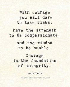 Mark Twain Quote About Courage >> For disability living information come to DisabledBathrooms.org