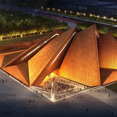 Construction has started on an art museum with four overlapping peaks that Foster + Partners have designed for Datong, China.