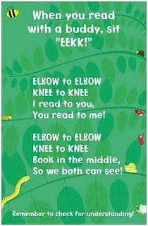 """Buddy reading """"EEKK!"""""""