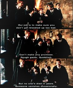 Fred and George are so encouraging... :D