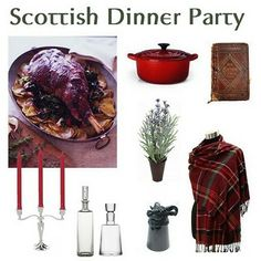 Outlander TV series inspires a party for those who love the book.  It will be a fun event.