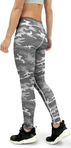 Art Shaping Active Leggings Red Camo Camouflage Womens Leggings Yoga Pants Activewear Leggings Gifts for her Polyester Spandex Tights
